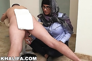 MIA KHALIFA - Your Favorite Arab Pornstar Milking Four Cocks Solo Be required of Distraction