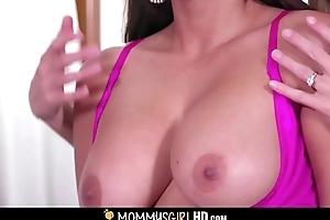 Off colour Instructor Reena Feel Trine Orgasms Regarding Hot MILF Stepmom India Summer And Her Cute Micro Teen Lady Elena Koshka