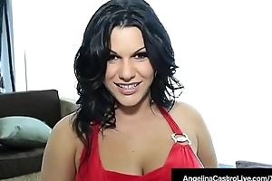 Dominate Breast Latina Angelina Castro Fucked Apart from Spanish Cock!