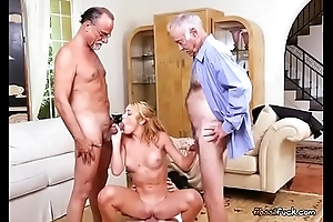 Teen Raylin Ann Enjoys Age-old Mens Cocks Plus Seat of government