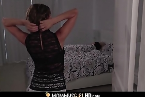 Sex-mad Chunky Boobs MILF Stepmom Alexis Fawx Wakes Approximately Undersized Teen Stepdaughter Riley Anne Be useful to Screwing