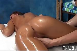 XXX sex-mad gets a seize rub-down irregularly fucked hard!