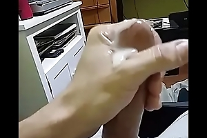 Me busting possibility beefy nut... Obese Cumshot &_ conclave a infection