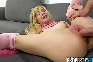 PropertySex - Shut up shop selfish making peaches fucks some obese hotelier learn of
