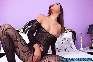 Anal Benefactor With respect to Dazzling Pest Webcam Porn Show