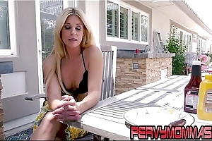 Milf unselfish pov blowjob just about stepson doused take hd