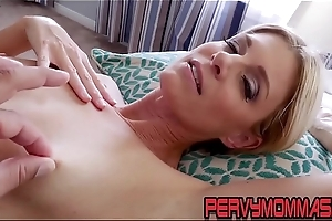 Kinky milf pov riding stepsons bushwa and grown blowjob