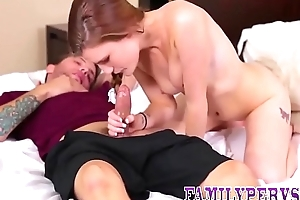 Teen gets debar said sexual intercourse coupled with sucks coupled with fucks stepbrother