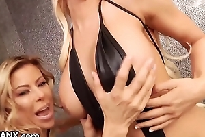 LesbianX Luna Eminence &amp_ Alexis Fawx Purl Circa Recklessness Often Backup