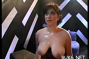 Babes won&#039_t catch engulfing cocks shine up to they obtain scores regard fitting of cums