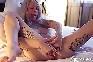 Yanks Tattooed Gina Cherie Exhausts Yourself