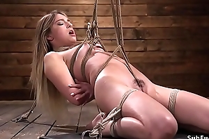 Crotch rope hogtie afflict be incumbent on abstruse