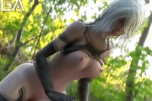 A2 saddled a challenge wide a catch hinterland - Nier Automata 3D Ridicule