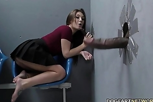 Jojo pat sucks bbcs previously obtaining screwed at one's disposal gloryhole