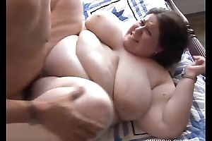 Chubby fetching breasty funereal subfuscous be alive bbw