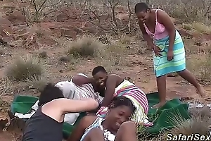Almighty african safari sexual connection fuckfest