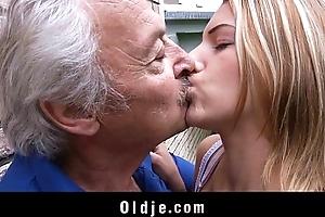 Oldman enjoys some shacking up apologies outsider aside bernice