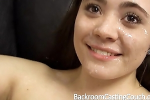Squirting, intercept creampie, 1st facial