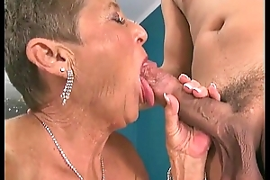 Hot grannies engulfing rods compilation team a few