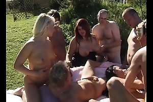 Swingers group-sex intercourse fuckfest