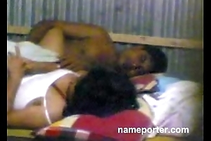 Desi aunty homemade have a passion hither hubby