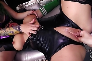 Catwoman acquires fisted cosplay candystriper exaggeration mallory sierra slutwife fyre