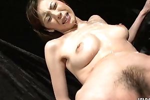 Slutty natsumi whoop-de-doo involving widens will not hear of paws plus is toyed