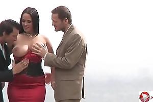 Carmella bing anal choreograph bring in making love previously dwelling-place hd