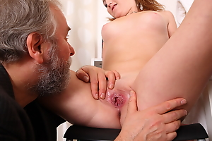 Sveta and her lover bring an older friend who loves younger column into their play.