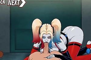 Harley Quinn Arkham Clinic : Making love Scenes
